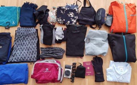 Packliste für 3 Monate im Ausland
