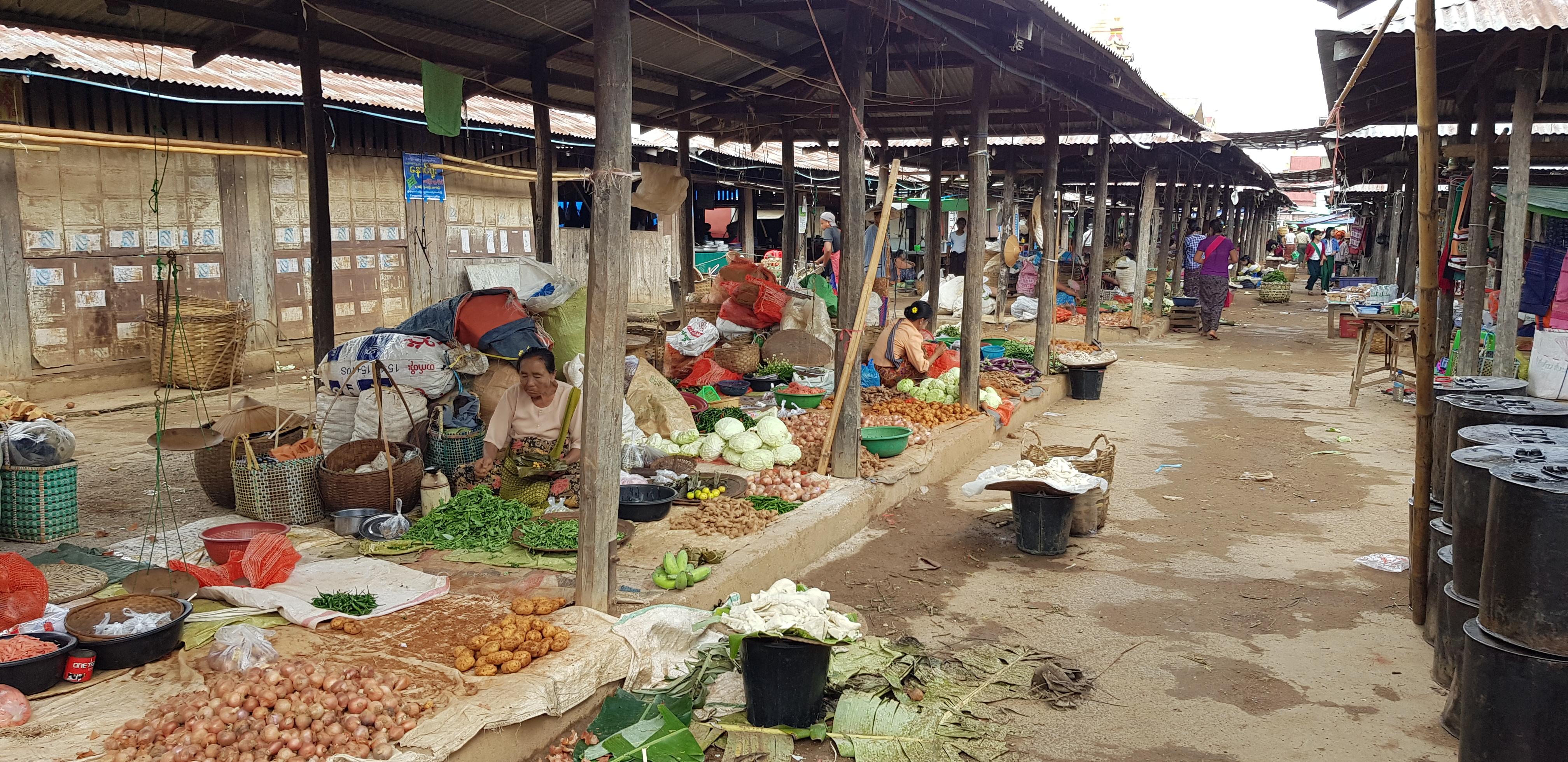 Markt am Inle-See