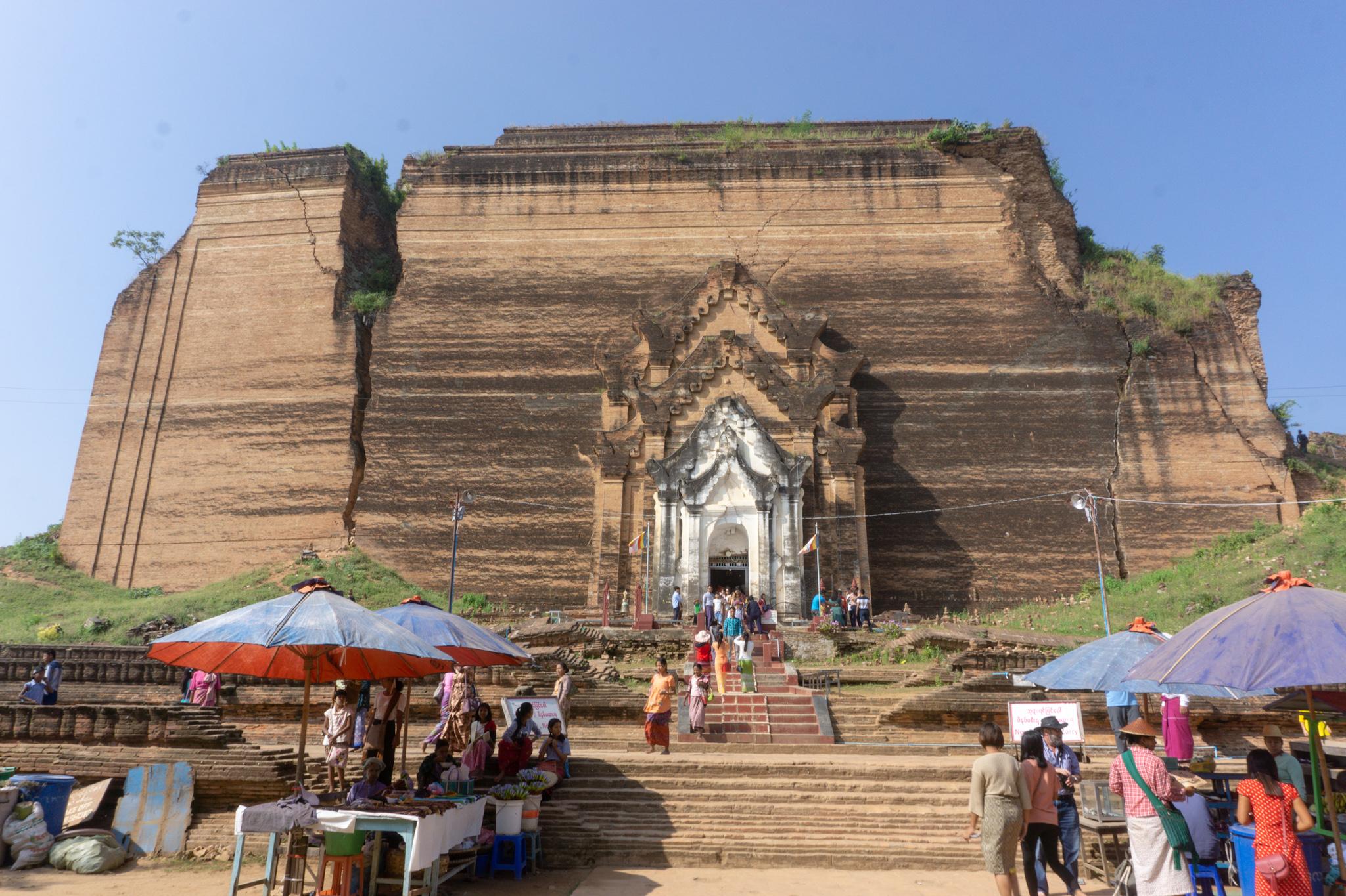 Tempel in Mingun