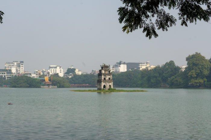 Schildkrötenturm Hanoi