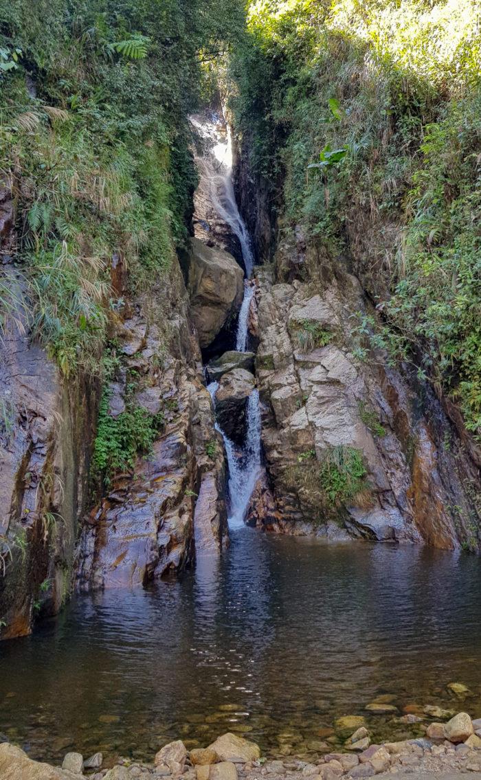 Wasserfall bei Sapa