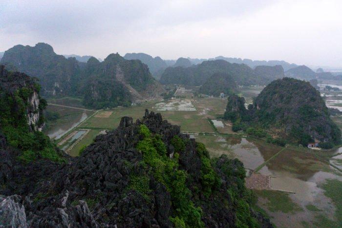 Ausblick vom Mua Cave Berg