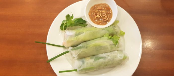 Sommerrollen in Vietnam