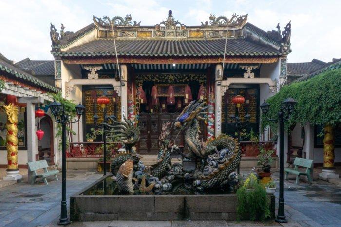 Kantonesische Versammlungshalle in Hoi An