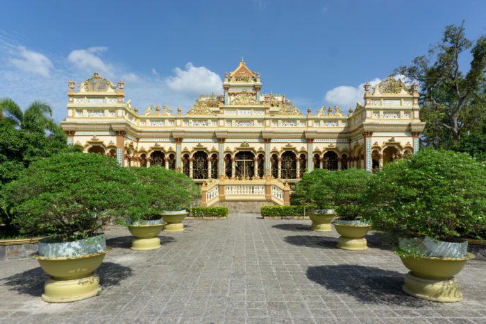 Tempel im Mekong Delta