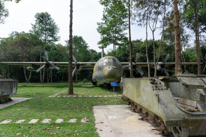 Gelände bei den Cu Chi Tunnel