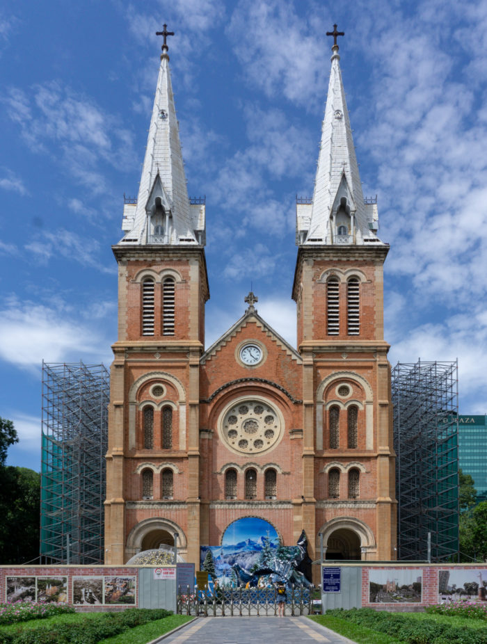 Note Dame Kathedrale in Ho Chi Minh