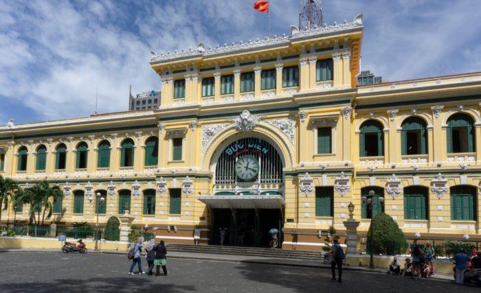 Hauptpostamt in Ho Chi Minh