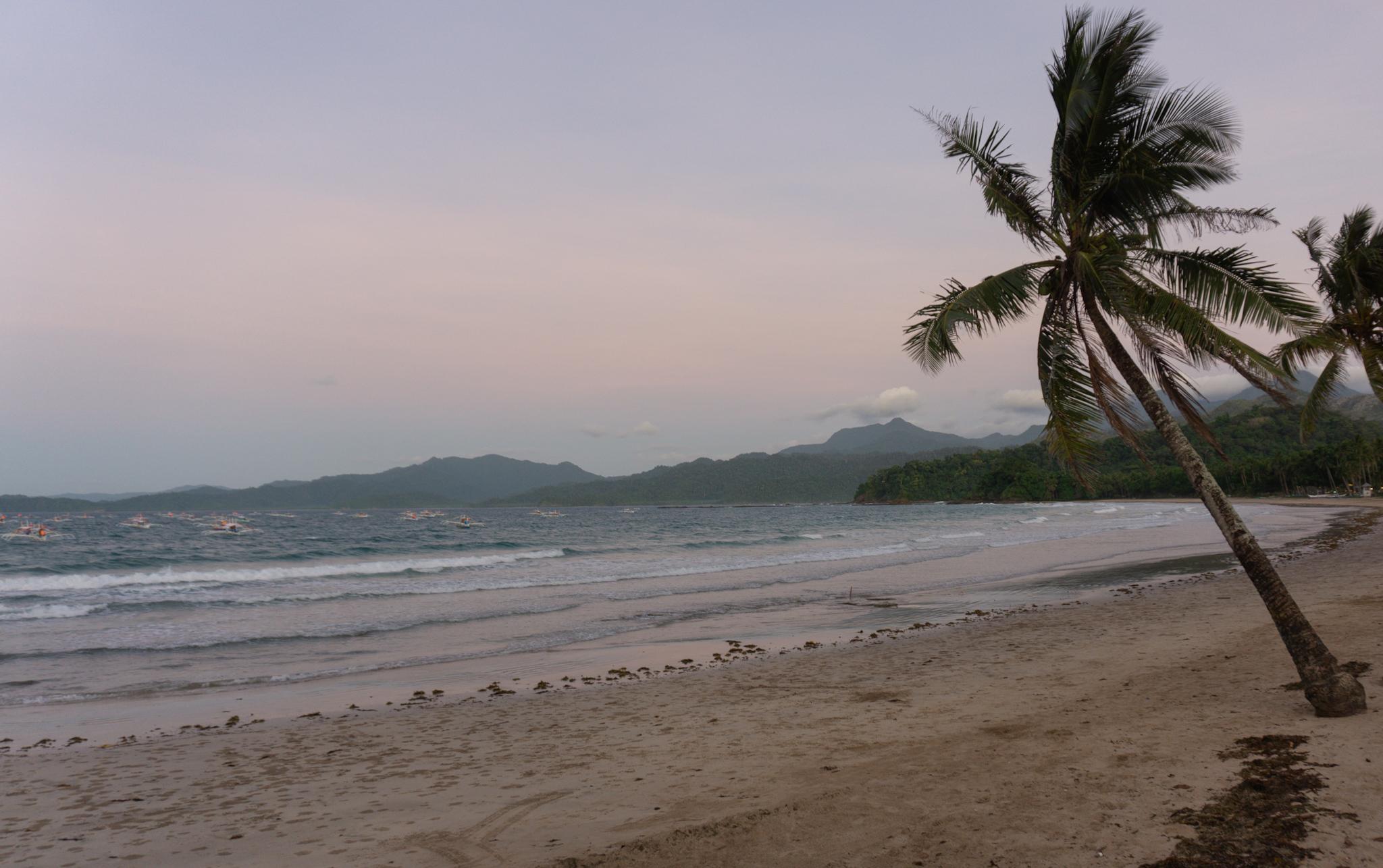 Strand in Sabang, Palawan