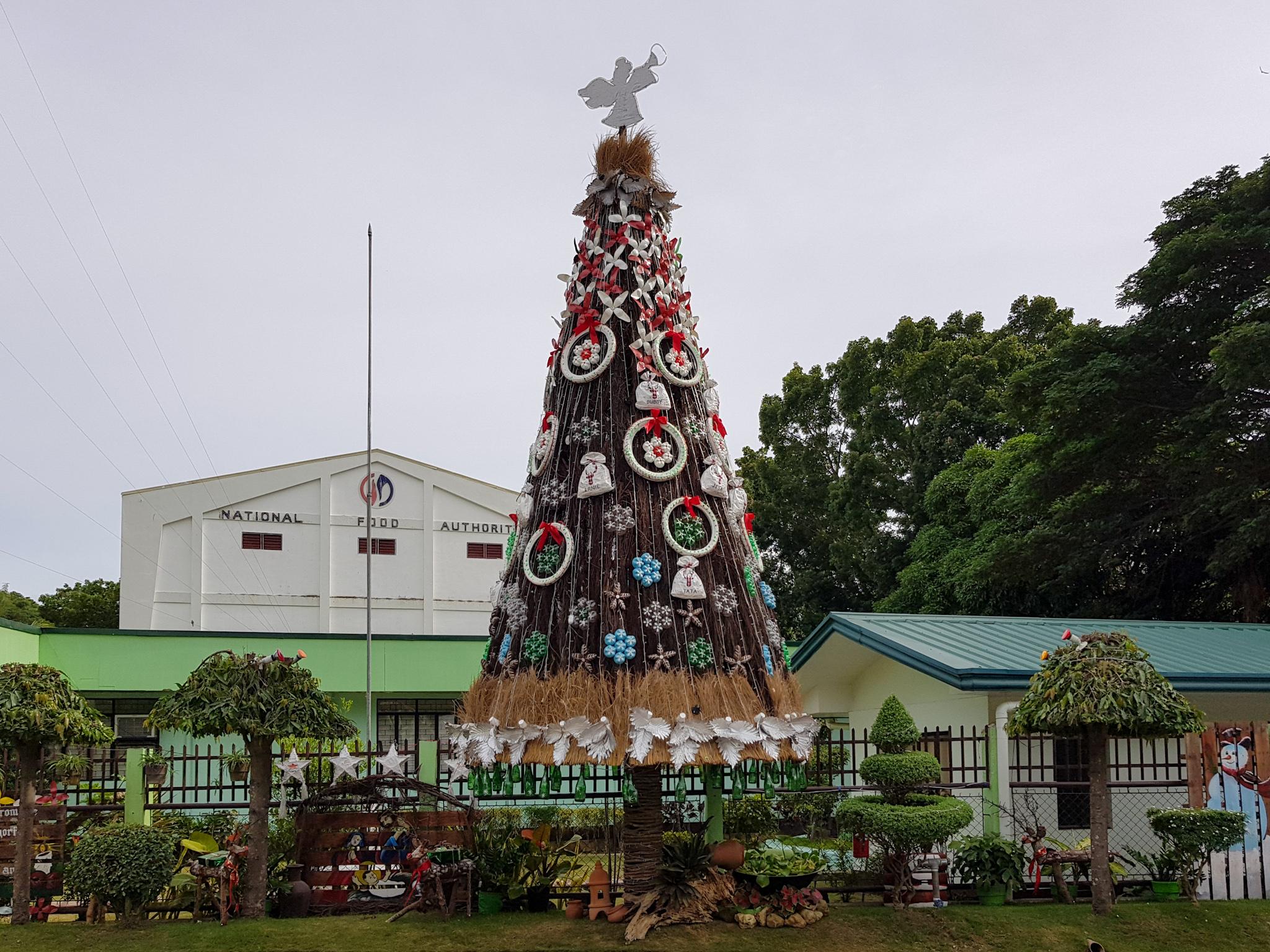 Weihnachtsbaum auf den Philippinen