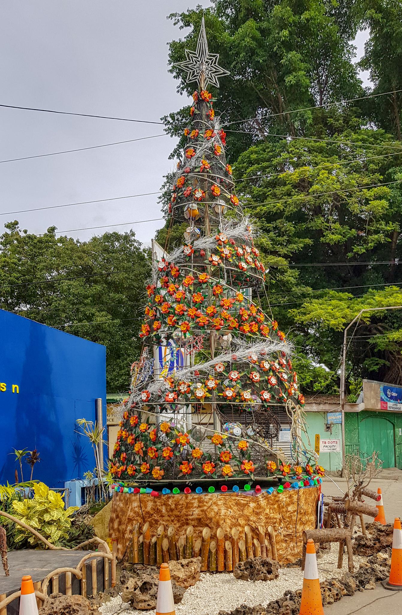 Christbaum auf den Philippinen