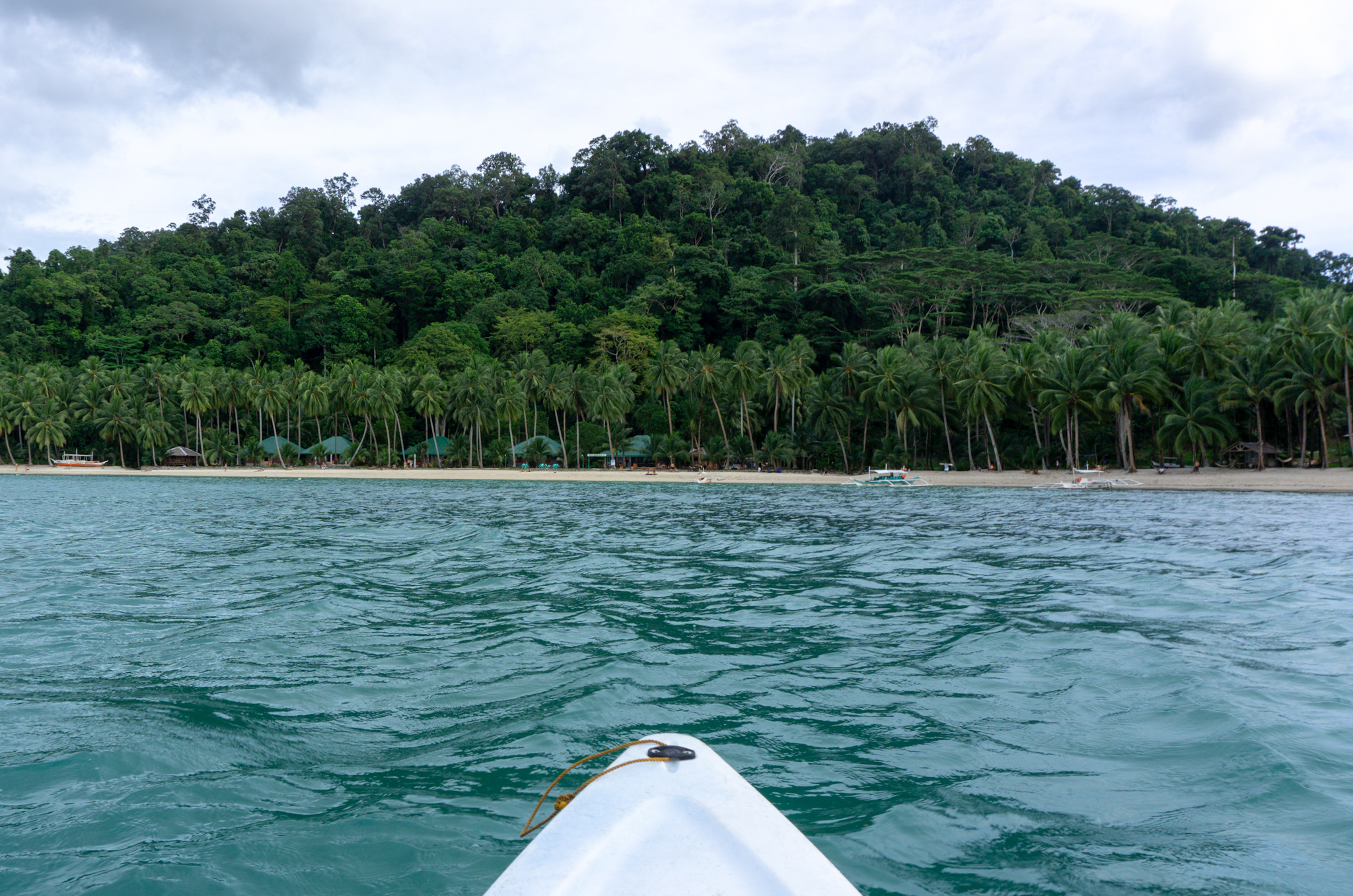 Kayaking in Port Barton