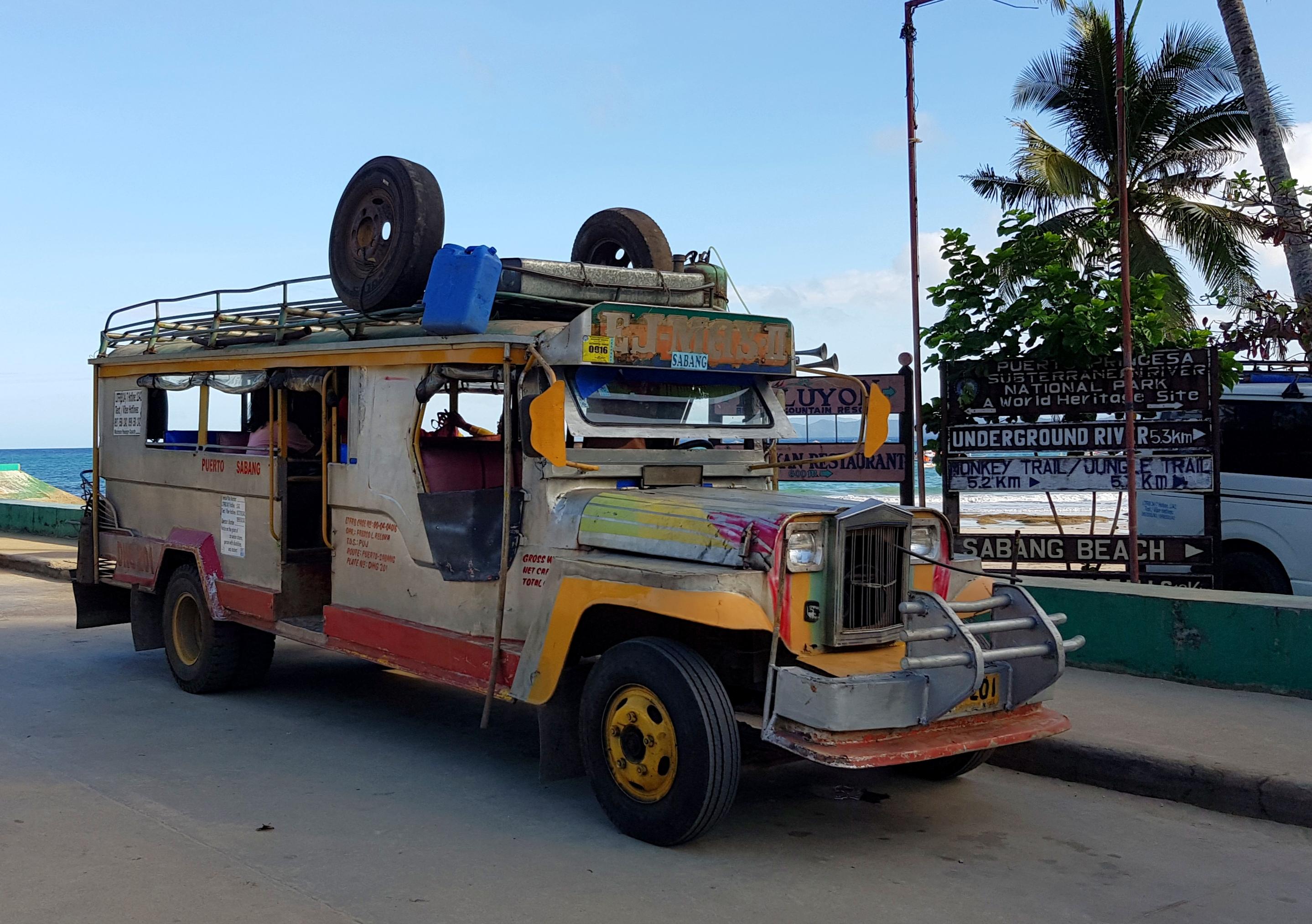 Öffentliches Verkehrsmittel auf den Philippinen