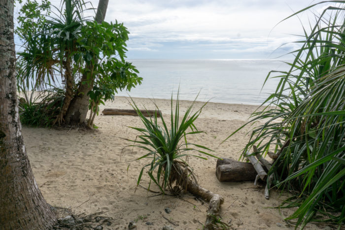 Strand im Goldsky Seaview