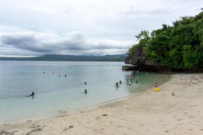 Salagdoong Beach mit Rutsche