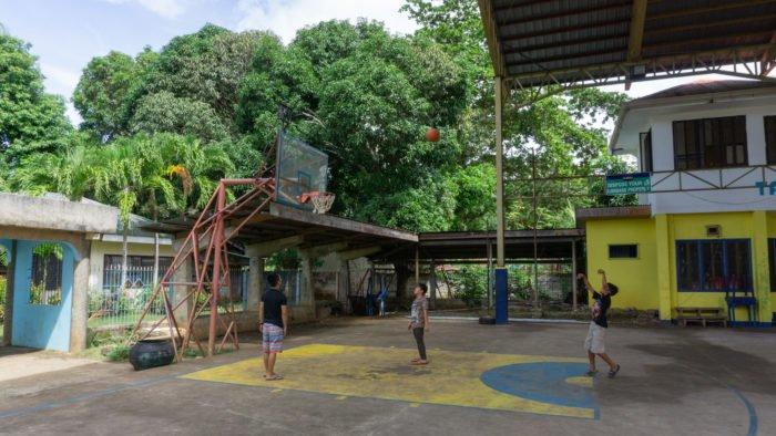 Basketballstadium auf Siquijor