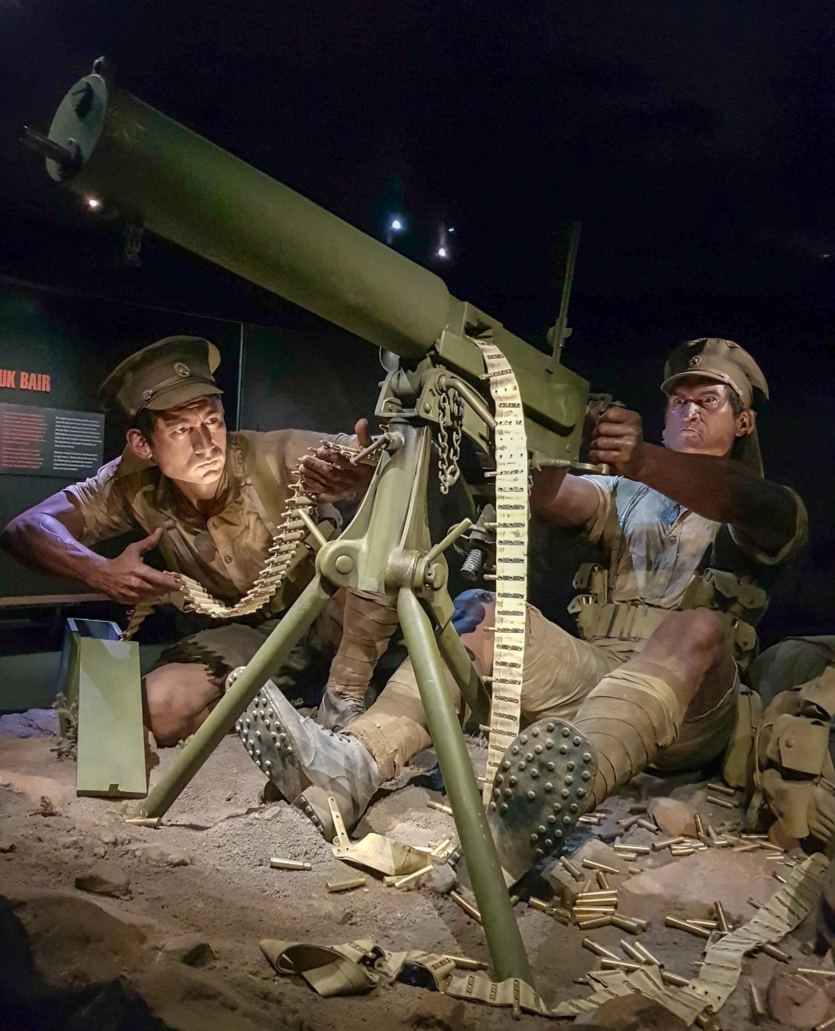 Figuren der Gallipoli Ausstellung in Wellington