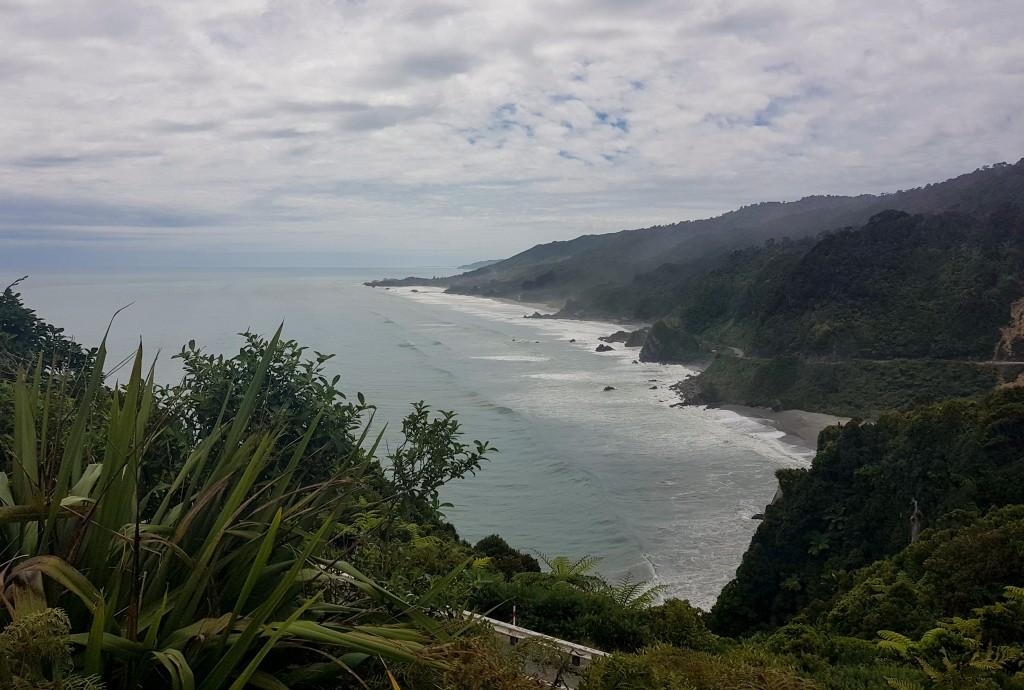 Westküste der Südinsel in Neuseeland