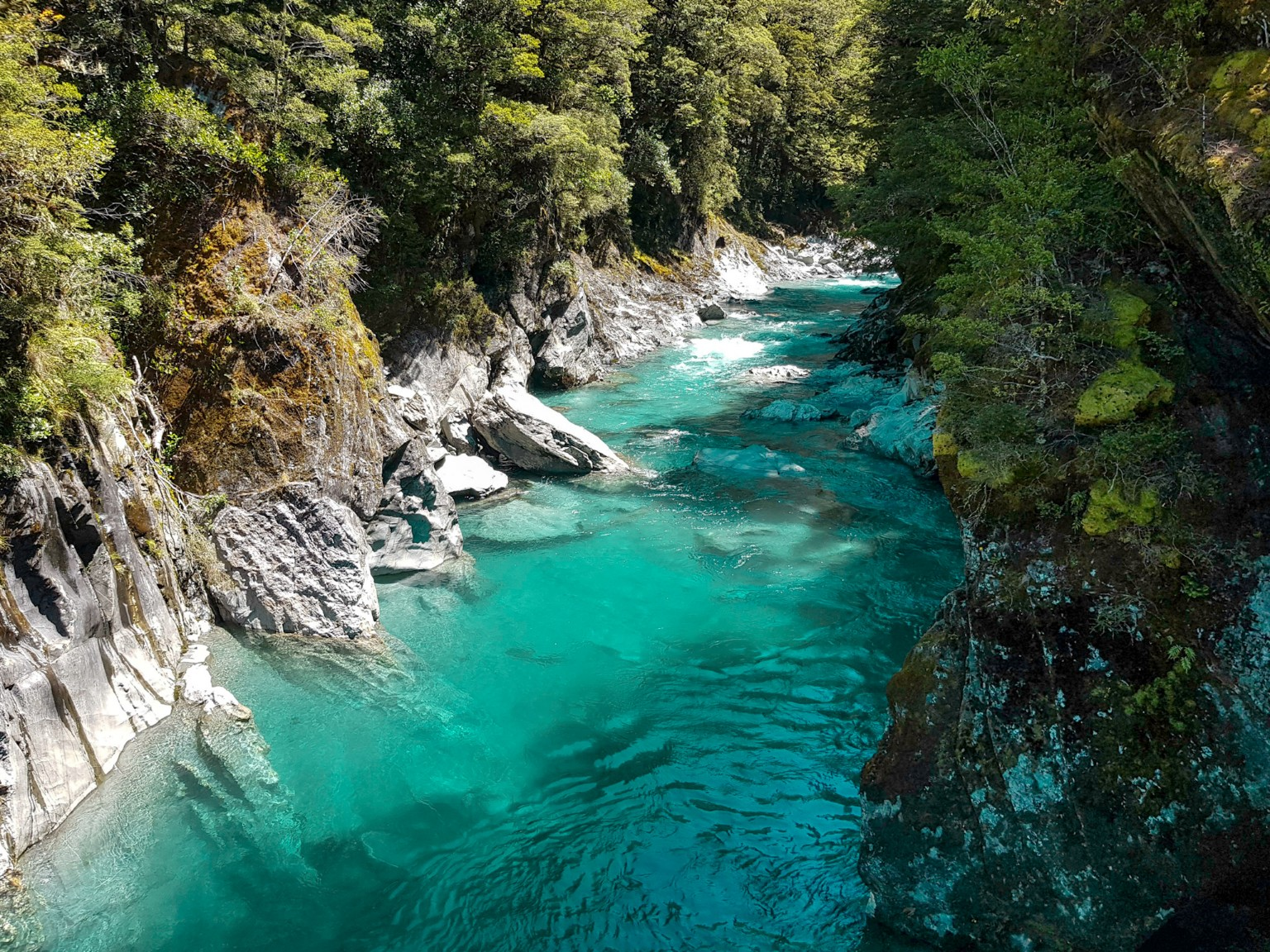 Blue Pools bei Wanaka