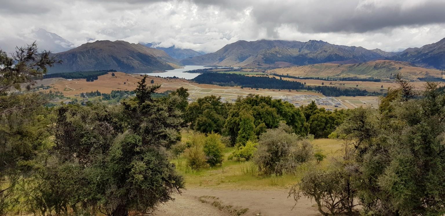 Wanderung auf den Mount Iron