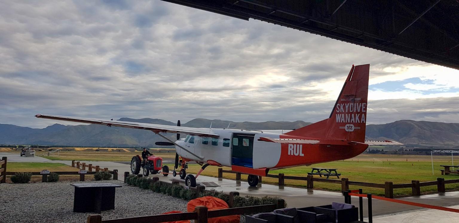 Skydive Wanaka Flugzeug