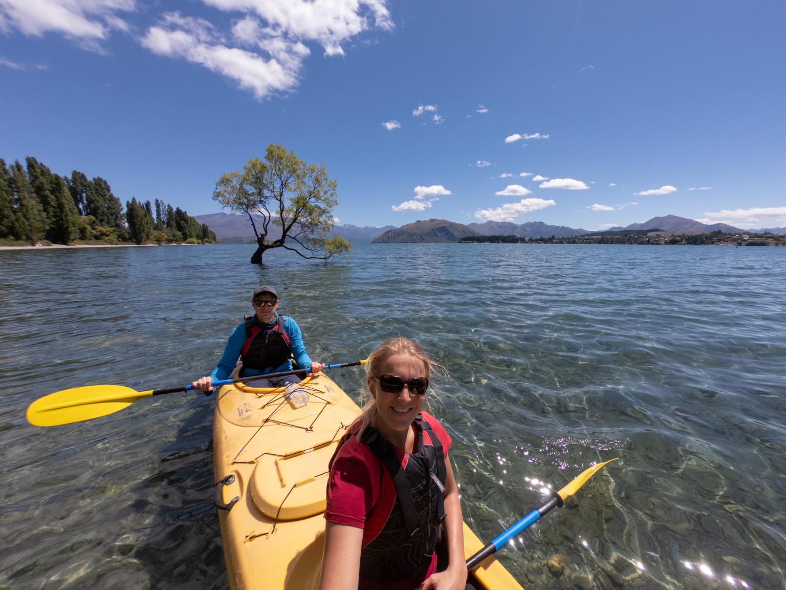 Kajakfahren auf dem Lake Wanaka