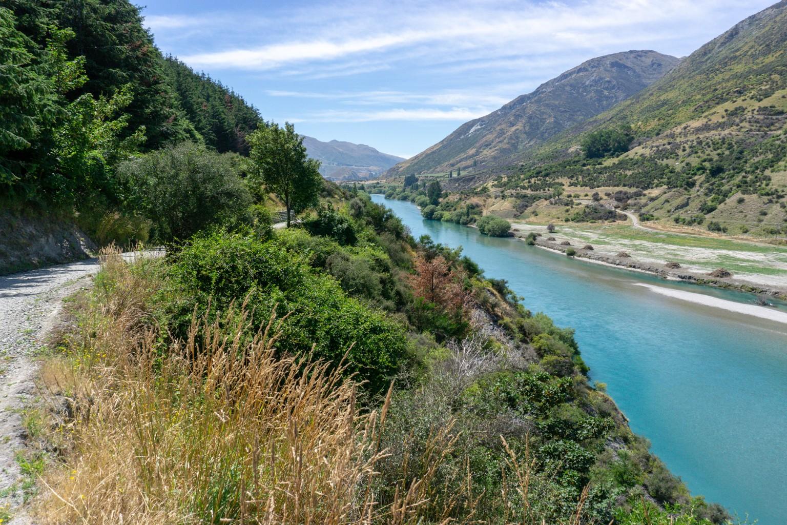 Twin-River-Trail am Kawarau Fluss