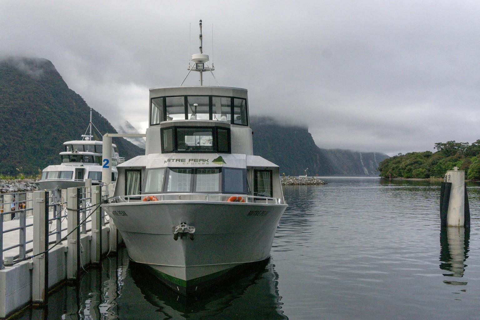 Mitre Peak Cruise am Milford Sound