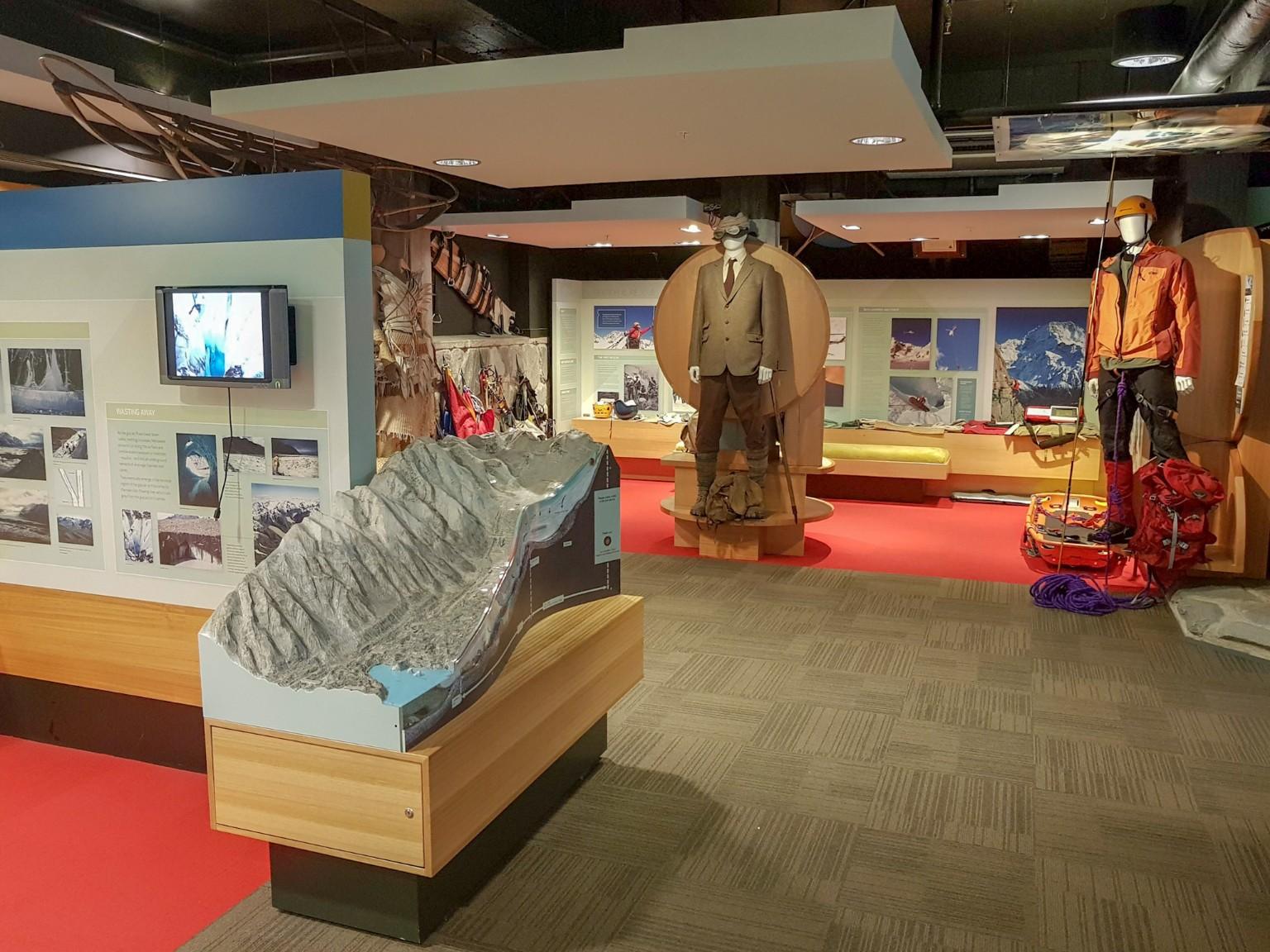DOC Visitor Center im Aoraki Mount Cook Village