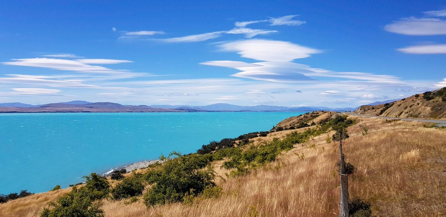 Lake Pukaki in Neuseeland