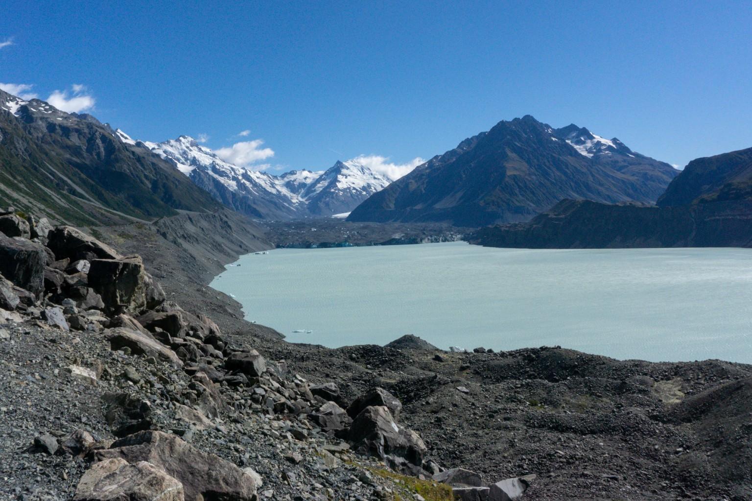 Tasman Gletscher See