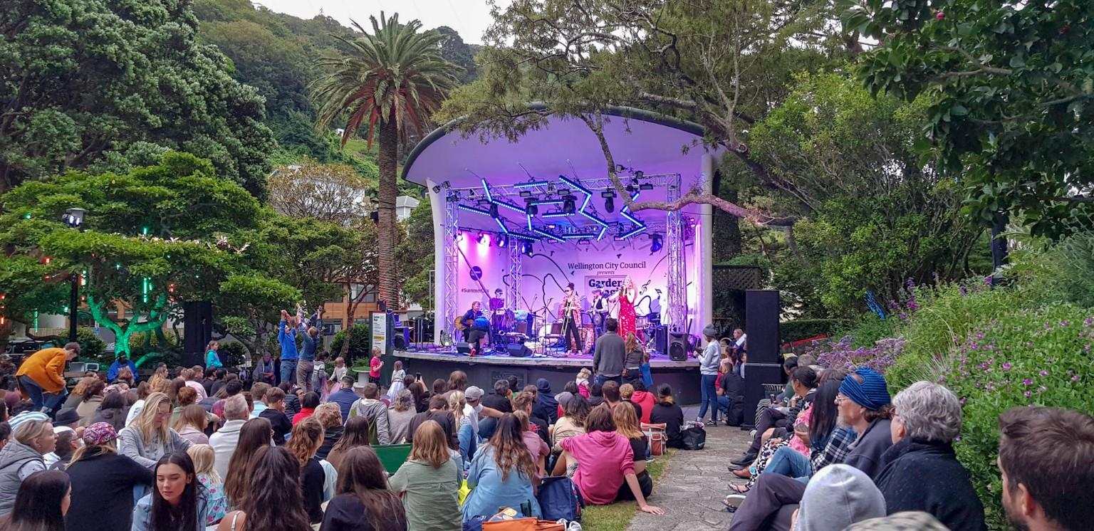 Kostenlose Konzerte in Wellington