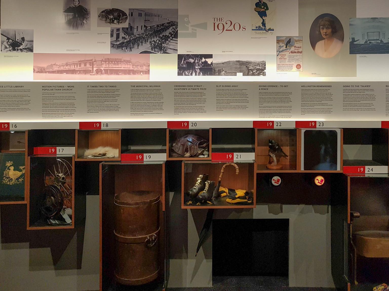 Wellington Museum - die letzten 100 Jahre