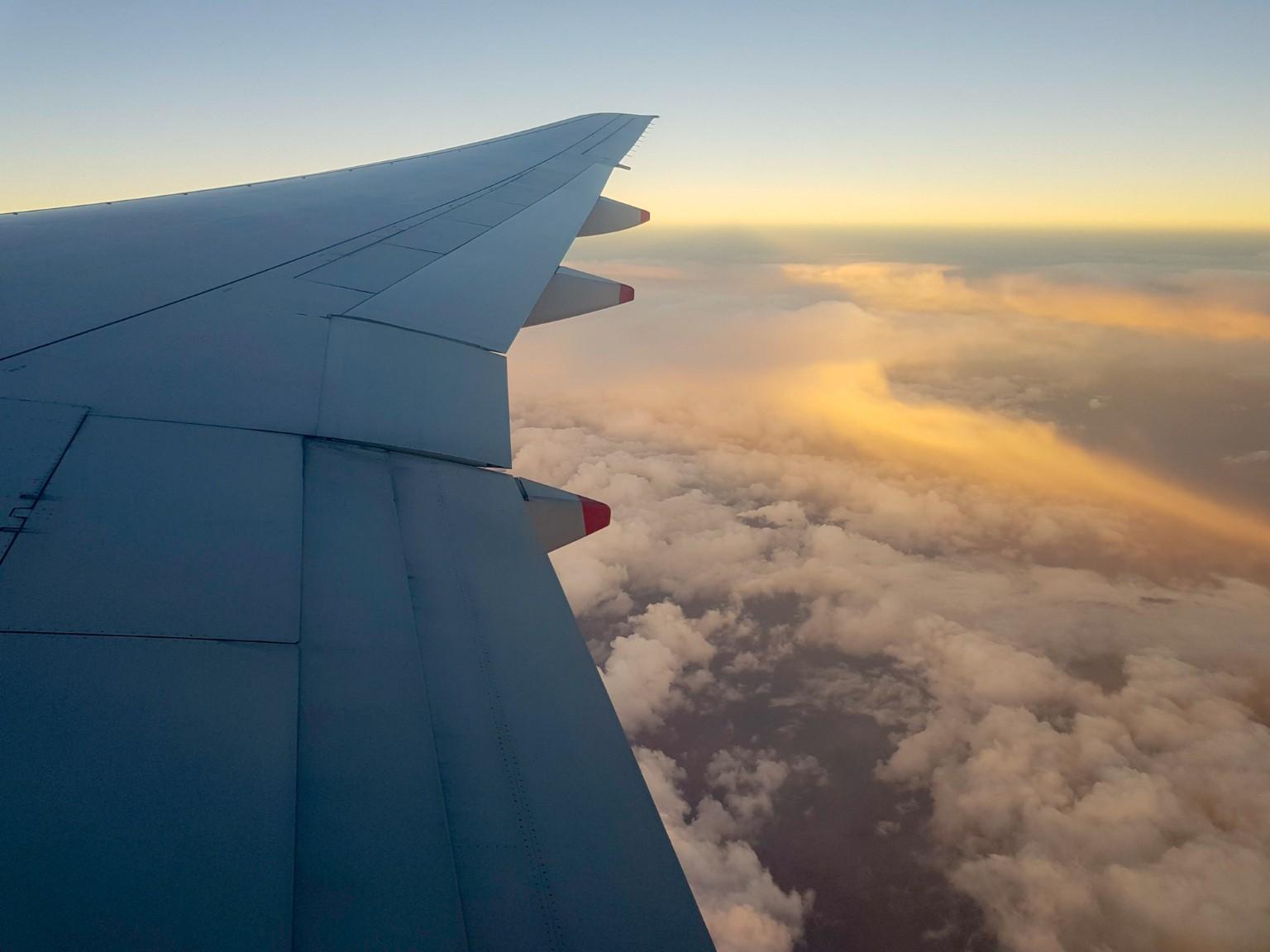 Über den Wolken - Von Wellington nach München
